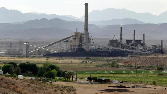 The Reid-Gardner coal-fired power station on the Moapa Indian Reservation outside Las Vegas.