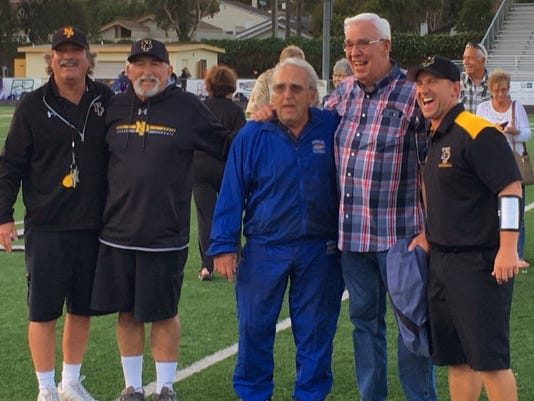 Newbury Park football coaches
