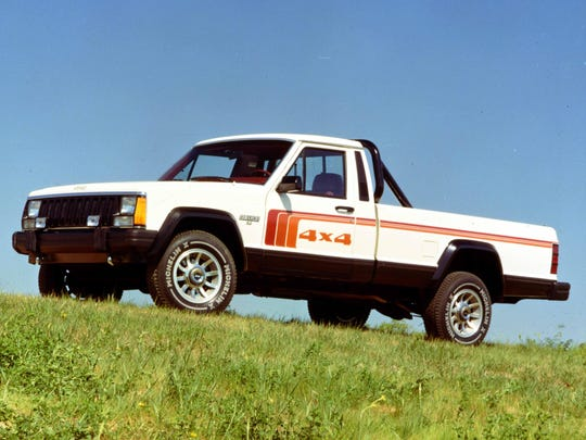 The Comanche, from 1985-92, was Jeep's last pickup