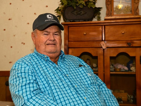 Michiel Vaughn for decades raised tobacco on his Ballard County Kentucky farm, but after seeing the effects of smoking on his community he decided to stop growing the crop.
