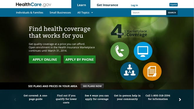 HealthCare.gov has updated the homepage HealthCare.gov has updated the homepage, swapping out a photo of a woman for icons representing the variety of ways people can sign up.