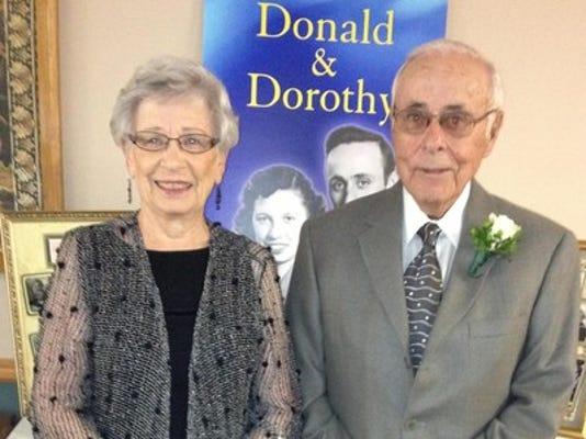 Anniversaries: Donald Anderson & Dorothy Anderson
