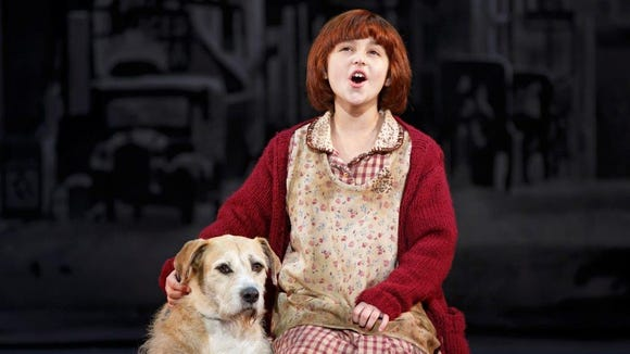 """""""Annie"""" runs from Dec. 1 to Dec. 6 at The Playhouse at Rodney Square in Wilmington."""