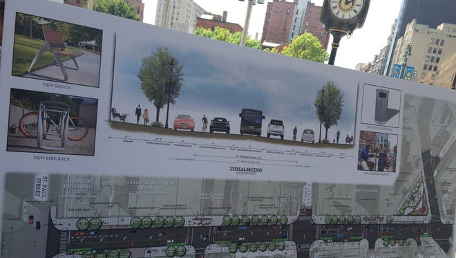 The city plans to spend $3.5 million next year fixing up Main Street between St. Paul Street and East Avenue.