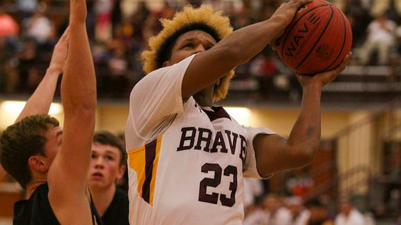 Isaiah Evans (23) and Cherokee are the visiting team for Thursday night's game at Swain County.