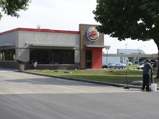 Burger King at 2582 Monroe Road will remain open during remodeling. Aug. 4, 2016.
