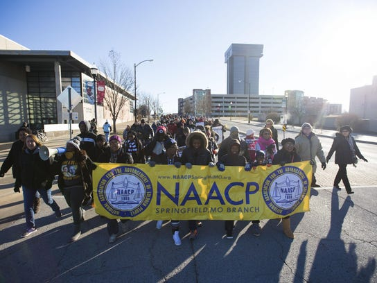 The annual Martin Luther King Jr. March starts at the