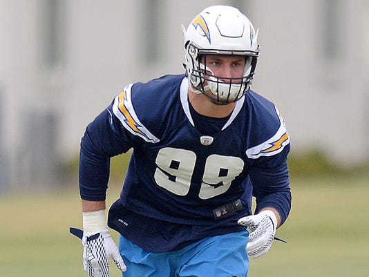 USP NFL: SAN DIEGO CHARGERS-ROOKIE MINICAMP S FBN USA CA