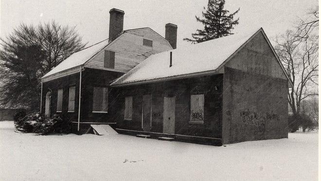 The Van Houten House in Westside Park in Paterson.