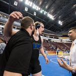 Where do local wrestlers rank state-wide ahead of the PIAA 2A state tournament?