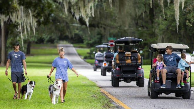 A letter writer advocates for safe golf cart usage on public roads.