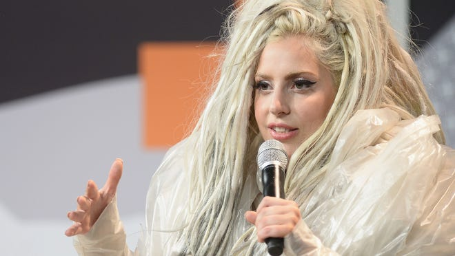 Musician Lady Gaga, pictured March 14, 2014, will be in Indianapolis for the U.S. Conference of Mayors on Sunday, June 26, 2016.