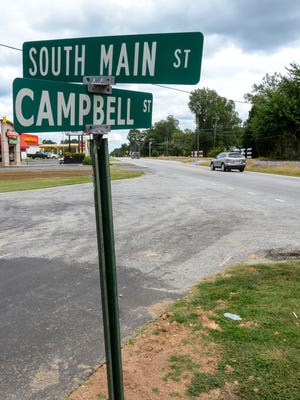 A redesign of the intersection at South Main Street and Campbell Street in Belton is planned.