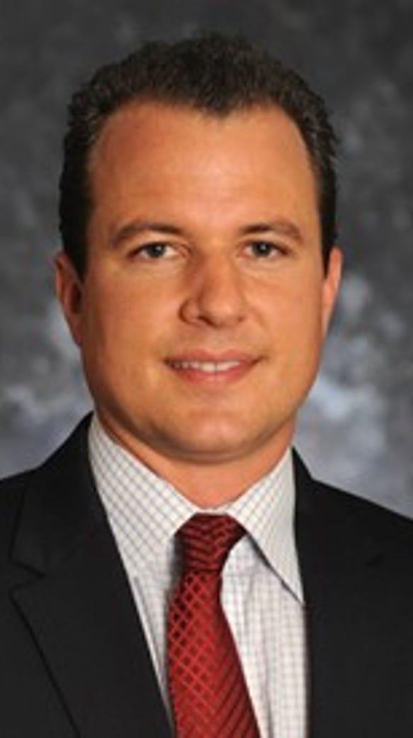 New Mexico State associate head coach Paul Weir.