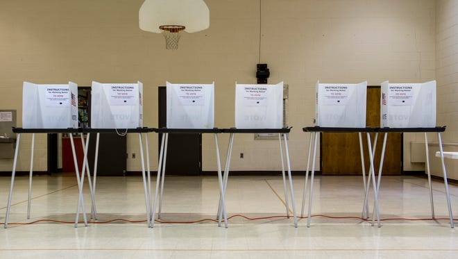 This year, precincts 6 and 7 were combined into one polling location at the First United Methodist Church on Lapeer Avenue. The city is proposing a 3 mill public safety tax for its police and fire departments and 1 mill for parks and recreation, which also includes operations at McMorran Place.