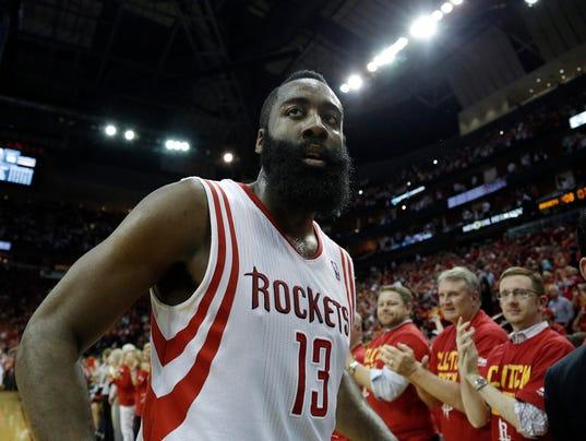 NBA: Playoffs-Portland Trail Blazers at Houston Rockets