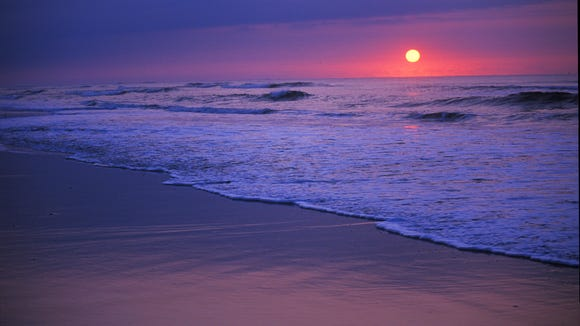 Atlantic Beach on the North Carolina Coast.