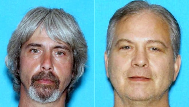 Detectives found a red Volkswagen that had been driven by Washington suspects 53-year-old John Blaine Reed and his brother, 49-year-old Tony Clyde Reed, in Phoenix in April 2016, but they said the suspects had since taken a 2002 gold Acura 32T with Arizona plate BNN-9968.