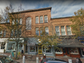 Maine: A quaint, tree-lined street in Bath, Front Street