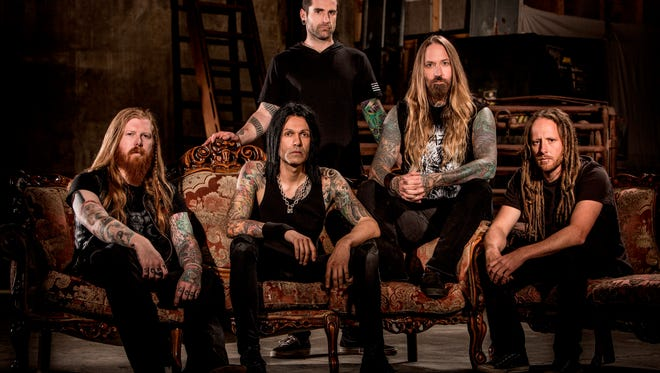 California-based heavy-metal group DevilDriver will perform Tuesday at Tricky Falls, Downtown.