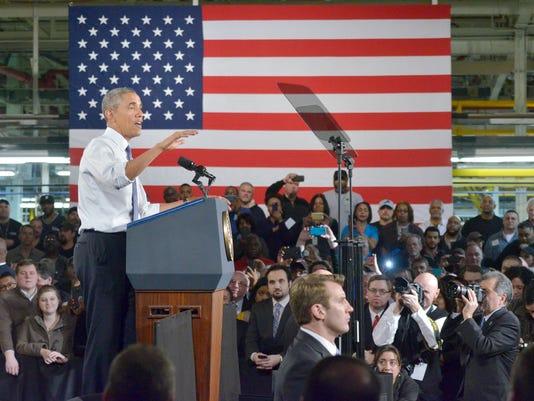 Barack Obama in Wayne