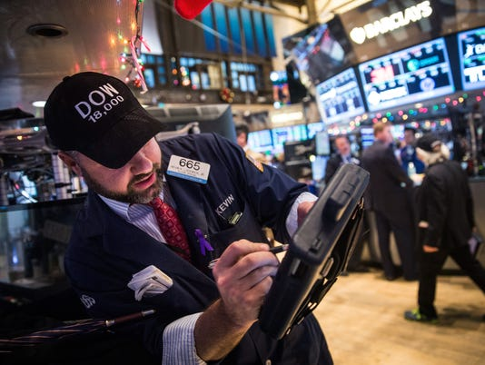 Dow ends further in record territory