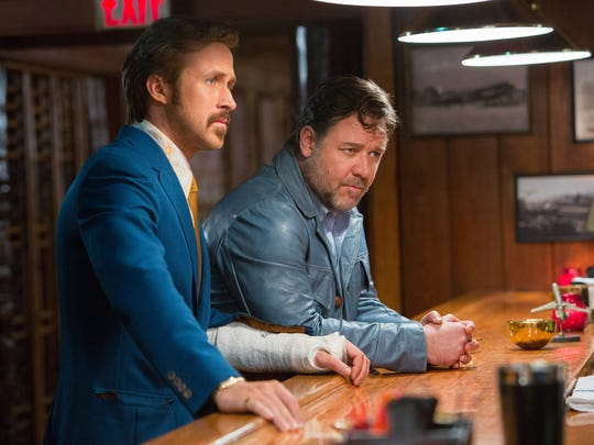 Ryan Gosling and Russell Crowe star in 'The Nice Guys.'