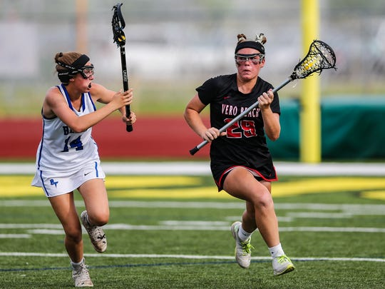 The Vero Beach High School girls lacrosse team had a 10-year FHSAA state championship streak snapped in 2016.