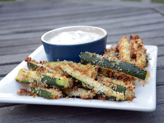 No one will miss the potatoes with these crunchy baked