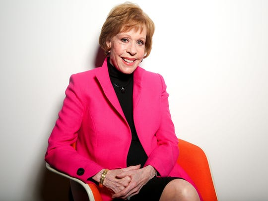 Carol Burnett tells stories and takes questions at the Riverside Theater.