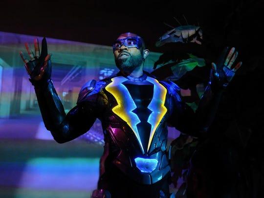 Cress Williams stars as a more mature kind of superhero