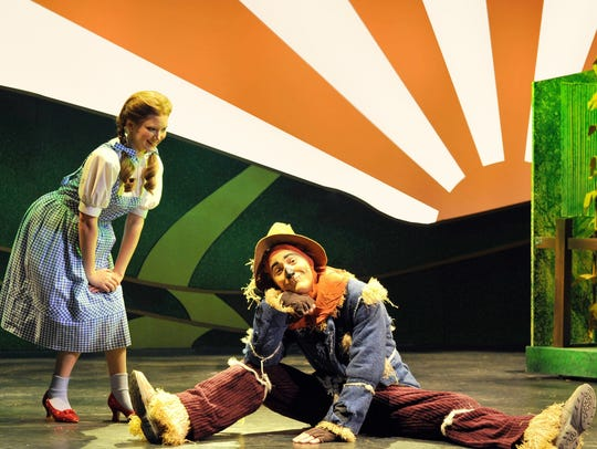 Dorothy and the Scarecrow will embark on their familiar