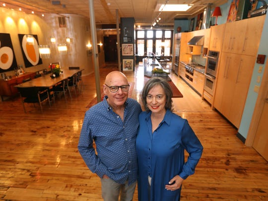 Dan and Randy Morgenstern created their downtown living space more than a decade ago.