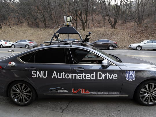 South Korea Driverless Taxi