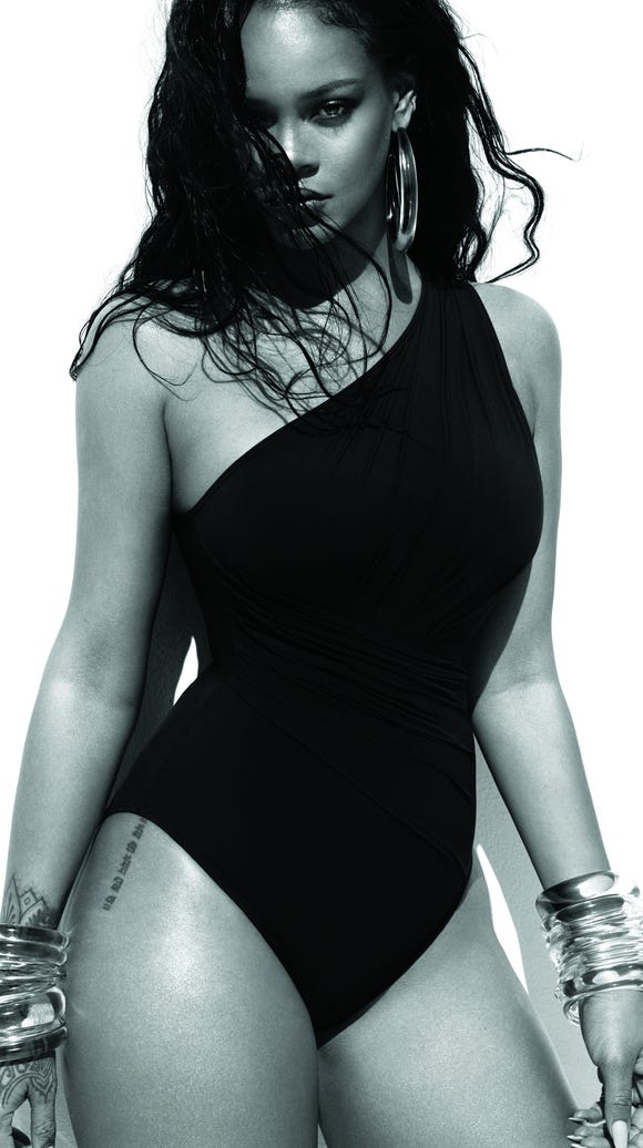 Rihanna in 'Vogue.'