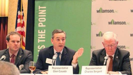 Williamson County legislators will address issues of importance to county residents at Friday's Public Affairs Roundtable.