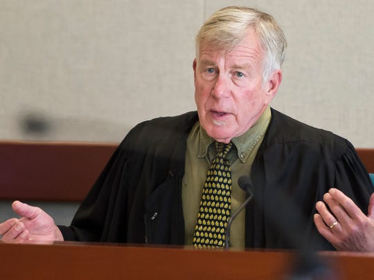 Judge Michael Kupersmith told James Scarola during sentencing in November 2015 to be thankful for the lesser charge and sentence he received.