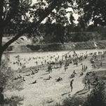 Our Back Pages: Before Estabrook had a dam, it had a beach