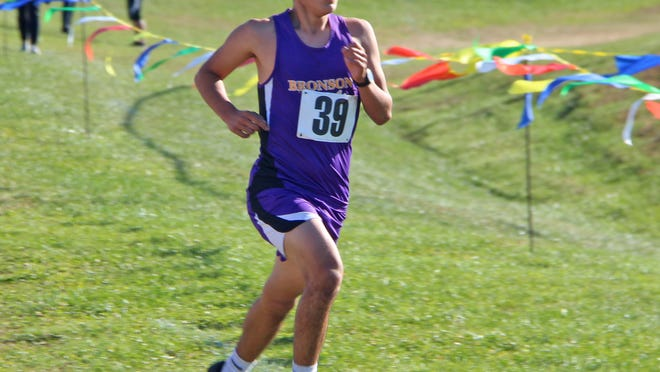 Bronson's Luis Ortiz dominated the field for the victory Thursday in Big 8 dual meet action.