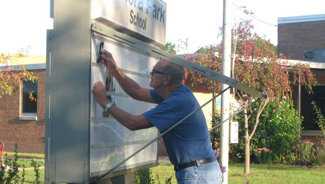 Wilbur Walterhouse was a long-time volunteer in Battle Creek Public Schools. He spent the last decade volunteering at LaMora Park Elementary School.
