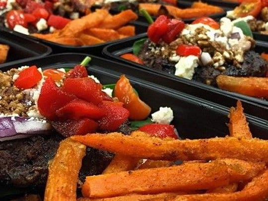 Meals offered at Fresh Fit Meals in Urbandale and Ankeny.