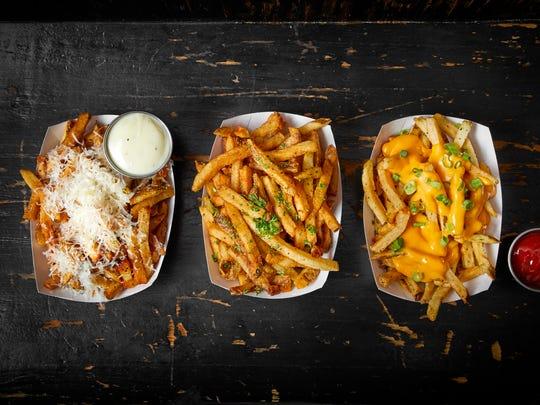 DMK Burger Bar has a variety of gourmet fries