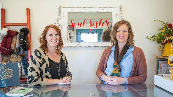Shanna Lindberg and Michelle Lindberg are co-founders of a business known as Soul Sister Ceramics.