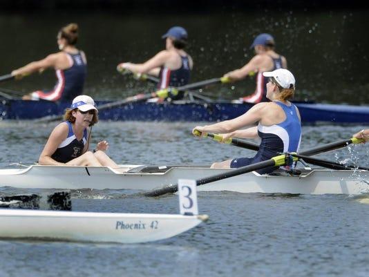 Main-regatta close finish