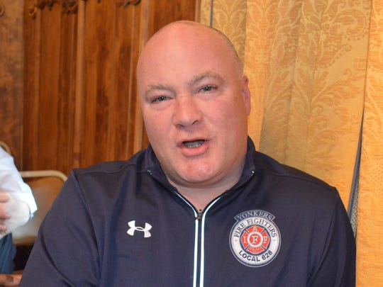Barry McGoey, president of Yonkers Firefighters Local 618, said he plans to hold more talks with city officials.