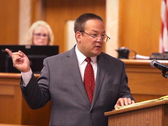 Waukesha County Deputy District Attorney Ted Szczupakiewicz