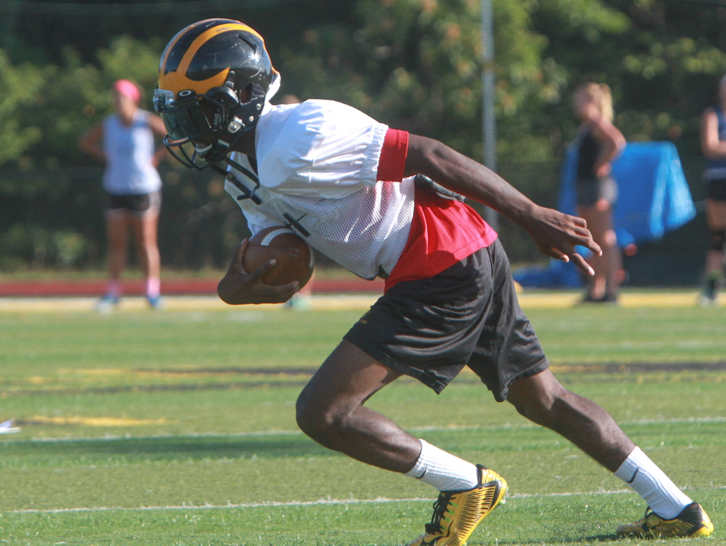 Khalil Haskins will be a key player for St,. John Vianney in the NJSIAA Non-Public Group III championship game.