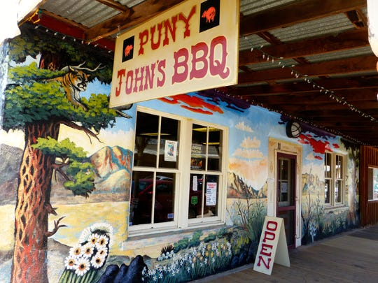 Puny John's has been dishing up mouthwatering barbecue in downtown Tombstone since opening in October.
