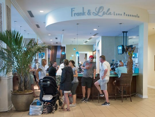 The iconic Frank and Lola Love Pensacola, cafe' at