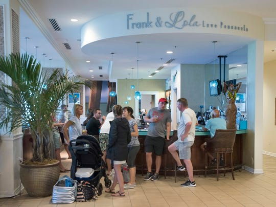 The iconic Frank and Lola Love Pensacola, cafe' at the Margaritaville Beach Hotel on Pensacola Beach as seen on Friday, June 15, 2018.